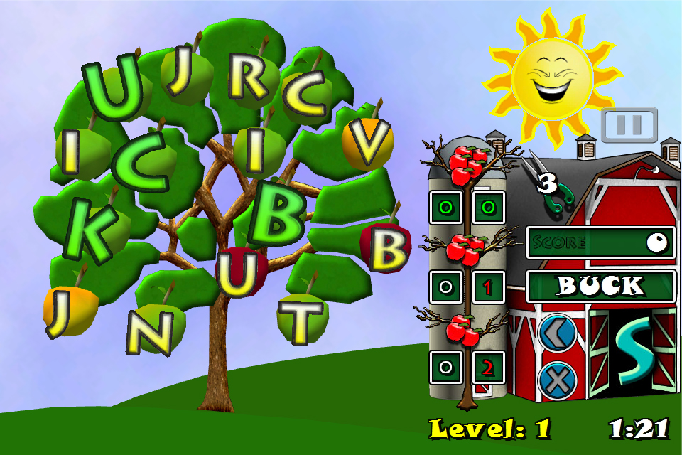 Screenshot Word Tree 3D