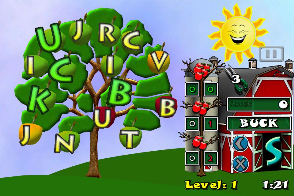 Screenshot Word Tree 3D