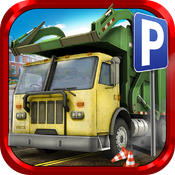 Download Car Parking Games Trash Truck free for iPhone, iPod and iPad