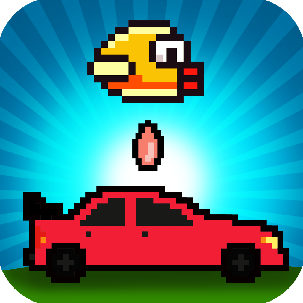 Crappy Bird Drop Safari - An Angry Winged Animal Turd Bomber